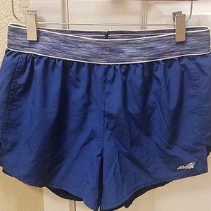 Avia 》Training running shorts blue small